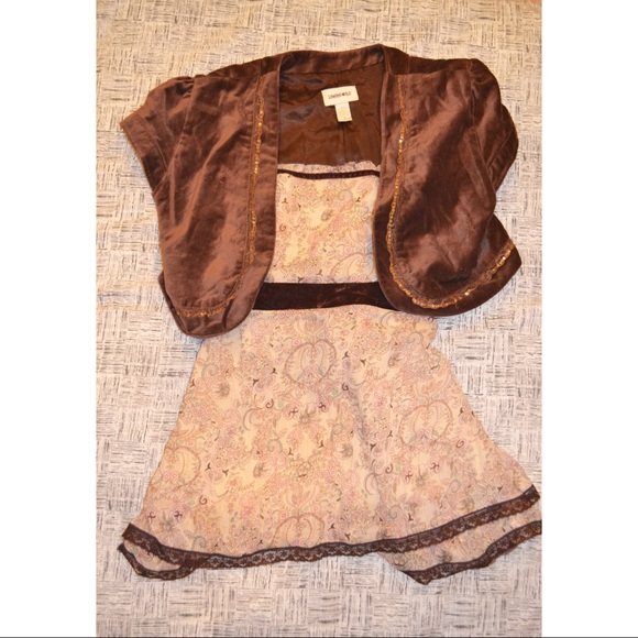 Limited Too Other - Limited Too Kids Brown Blazer and Top Set
